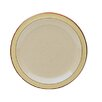 "Denby Fire 9"" Cream / Yellow Salad Plate"