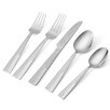 International Silver 20 Piece Arabesque Frost Flatware Set