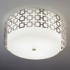 <strong>Jonathan Adler Parker Flush Mount</strong> by Robert Abbey