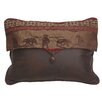 <strong>HiEnd Accents</strong> Cascade Lodge Bear Envelop Pillow