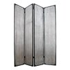 "Screen Gems 83"" X 63"" Industrial 4 Panel Room Divider"