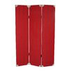 """Screen Gems 71"""" X 47"""" Elric 3 Panel Room Divider"""