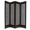 "Screen Gems 89"" x 84"" Omega Screen 4 Panel Room Divider"