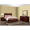 AC Pacific Soho Panel 4 Piece Bedroom Collection