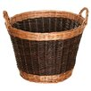 <strong>Wicker Valley</strong> Willow Two Tone Log Basket