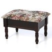 <strong>Mega Home</strong> Queen Anne Style Ottoman