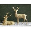 <strong>Twelve Days of Christmas Resin Standing Deer Statue</strong> by Creative Co-Op