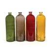 Creative Co-Op 4 Piece Glass Bottle Set (Set of 4)