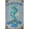 <strong>Vintage Signs</strong> Red Horse Seahorse Vintage Advertisement Plaque