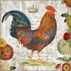 <strong>Vintage Signs</strong> Rooster Wall Art by Suzanne Nicoll Graphic Art Plaque