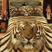 <strong>Dolce Mela</strong> Siberian Tiger 6 Piece Duvet Cover Set
