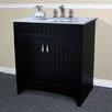 "Bellaterra Home 31"" Vanity Set with Single Sink"