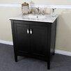 """Bellaterra Home 29"""" Single Sink Vanity Set"""
