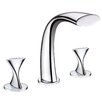 <strong>Twist Two Handle Deck Mount Roman Tub Faucet</strong> by Ultra Faucets