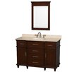 "<strong>Wyndham Collection</strong> Berkeley 48"" Single Vanity Set"