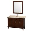 "Wyndham Collection Hatton 48"" Single Bathroom Vanity Set"