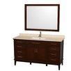 "Wyndham Collection Hatton 60"" Bathroom Vanity Set with Single Sink"