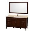 "Wyndham Collection Hatton 60"" Single Bathroom Vanity Set"