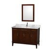 "Wyndham Collection Hatton 48"" Bathroom Vanity Set with Single Sink"