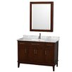 "Wyndham Collection Hatton 48"" Single Bathroom Vanity Set"