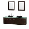 "Wyndham Collection Centra 80"" Bathroom Vanity Set with Double Sink"