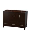 "Wyndham Collection Sheffield 48"" Single Bathroom Vanity Base"
