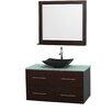 "Wyndham Collection Centra 42"" Single Bathroom Vanity Set"