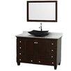 "Wyndham Collection Acclaim 48"" Bathroom Vanity Set with Single Sink"