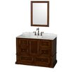 "Wyndham Collection Rochester 48"" Bathroom Vanity Set with Single Sink"