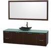 "Wyndham Collection Amare 72"" Bathroom Vanity Set with Single Sink"