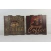 <strong>Firefly Home Collection</strong> Assortment Coffee 2 Piece Vintage Advertisement Set