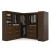 "Bestar Pur 93"" Deep Optimum Multi Storage Cubby Kit"