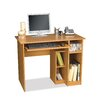 <strong>Basic Computer Work Station In Cappuccino Cherry</strong> by Bestar