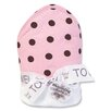 <strong>Trend Lab</strong> Maya Polka DotsTerry Hooded Towel