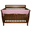 "<strong>Trend Lab</strong> Maya Dot 51"" Front Crib Rail Cover"