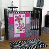 Zahara 3 Piece Crib Bedding Set