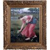 <strong>Tori Home</strong> Narcissus Waterhouse Framed Original Painting