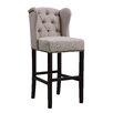 "Orient Express Furniture Villa 30"" Bar Stool with Cushion"