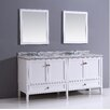 "<strong>Simpli Home</strong> Stonecastle 72"" Bathroom Vanity Set"