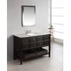 "<strong>Simpli Home</strong> Burnaby 48"" Single Bathroom Vanity Set"