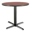 "<strong>30"" Round Pedestal Table</strong> by KFI Seating"