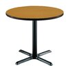 "KFI Seating 36"" Round Pedestal Table"