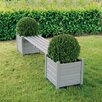 <strong>Bench with Planter</strong> by Fallen Fruits