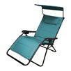 LB International Gravity Lounge Chair with Canopy