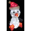 LB International LED 3D Furry Penguin Christmas Decoration