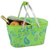 <strong>Picnic At Ascot</strong> Paisley Collapsible Insulated Basket