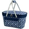 <strong>Picnic At Ascot</strong> Trellis Collapsible Insulated Basket