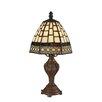 "Z-Lite Mini Tiffany Style 5 12"" H Table Lamp"