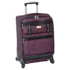 "Nicole Miller Animal Instinct 20"" Spinner Suitcase"