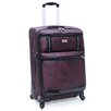 "<strong>Nicole Miller</strong> Animal Instinct 24"" Spinner Suitcase"